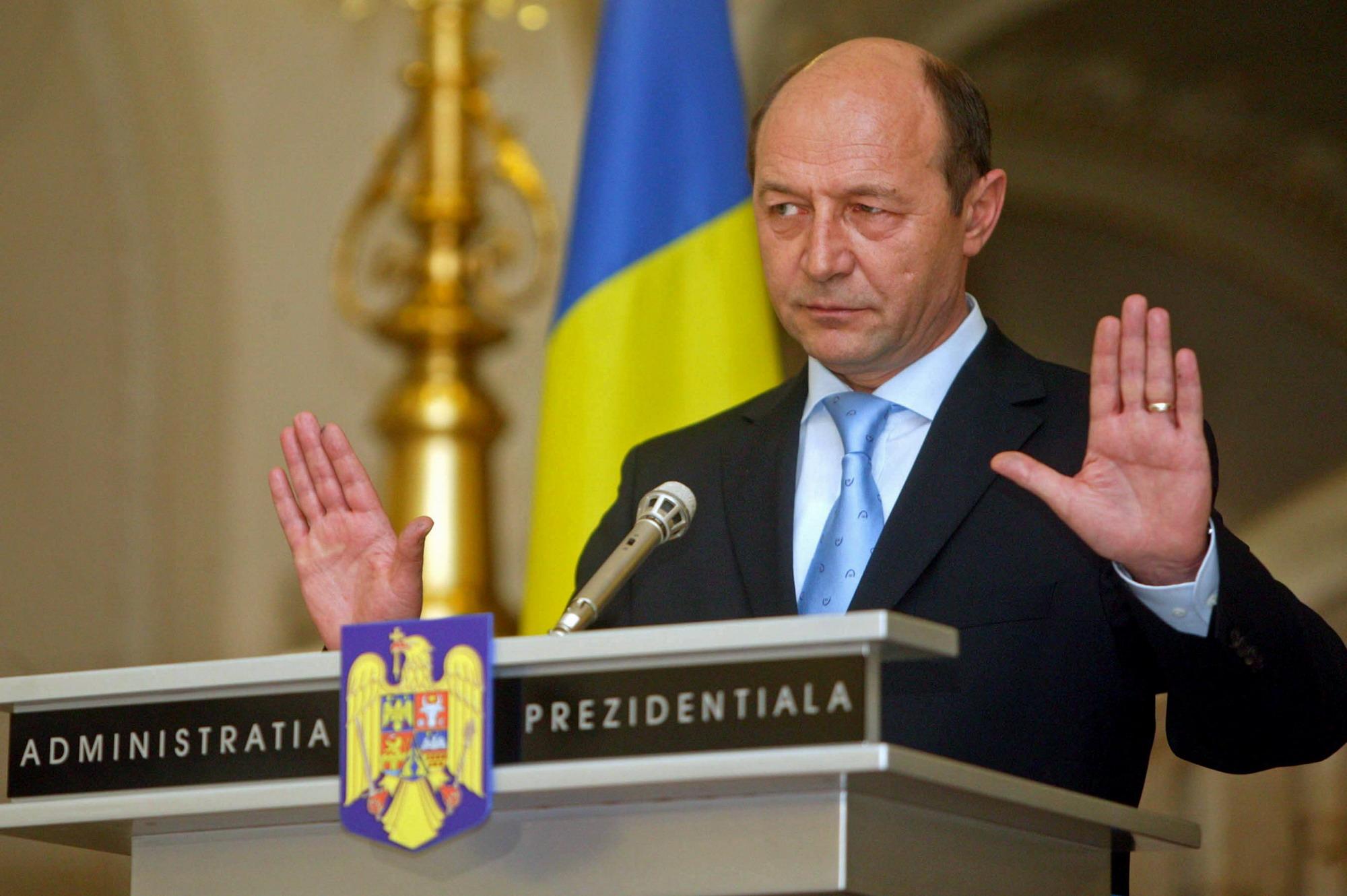 Criticile lui Traian Basescu