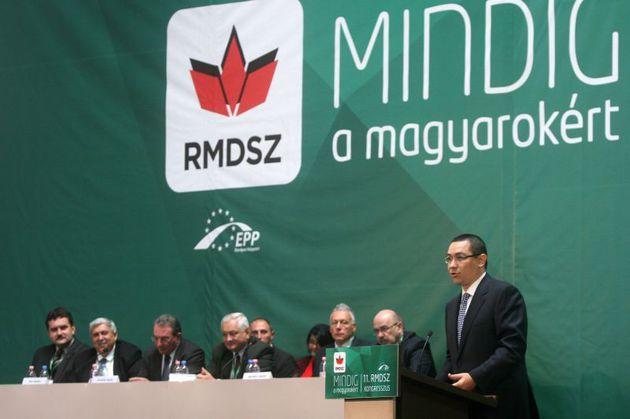 Victor Ponta si UDMR