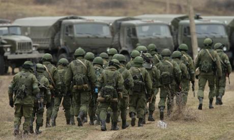 Ucraina se pregateste pentru retragerea din Crimeea