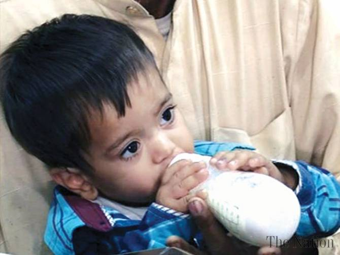 Bebelus de 9 luni acuzat de planuirea unei crime