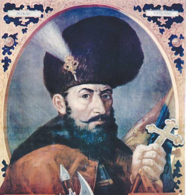 Mihai Viteazul, domn al Tarii Romanesti, al Ardealului si al Moldovei!