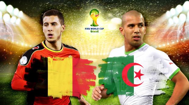 Belgia vs Algeria s-a terminat 2-1 pentru europeni