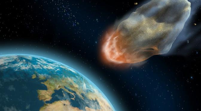 Un asteroid gigant aproare de Terra