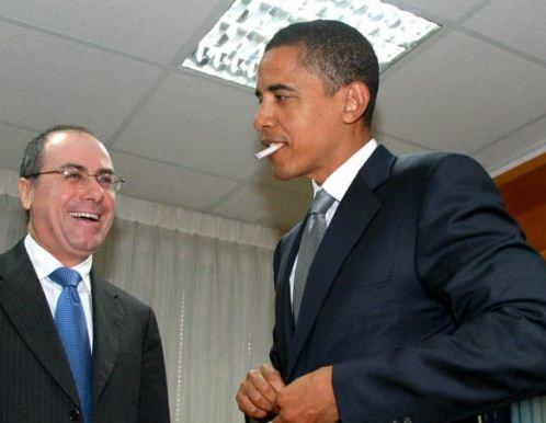 Barack Obama servit cu marijuana