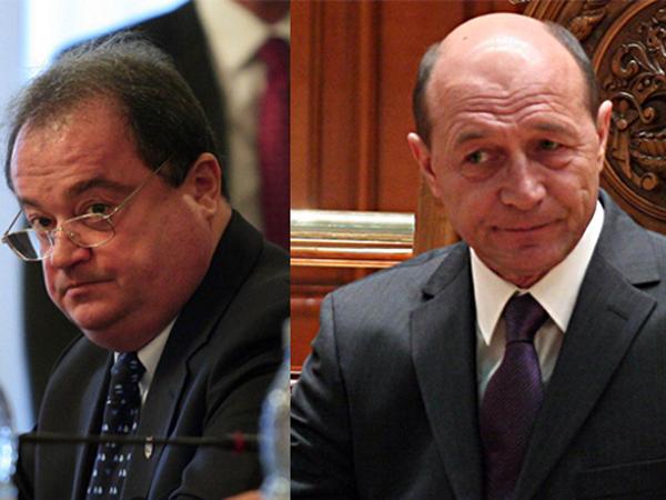 Traian Basescu il acuza pe Blaga