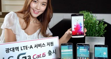 LG G3 LTE-A, a fost lansat in Coreea