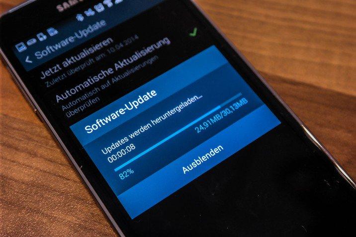 Nou upgrade pentru Galaxy S5