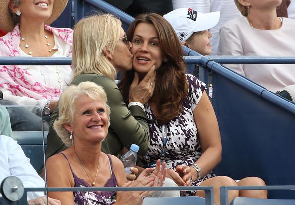 Seara emotionanta pentru Martina Navratilova