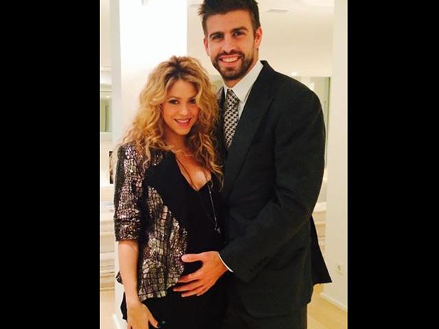 Shakira si Pique in culmea fericirii