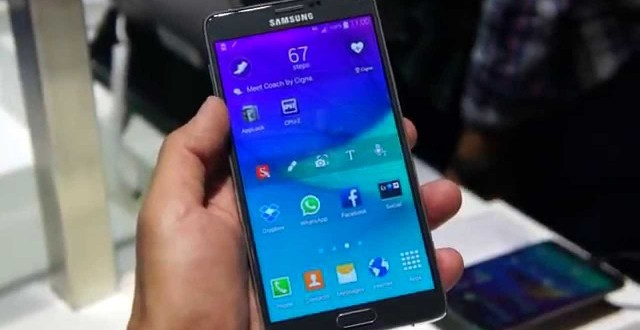 Galaxy Note 4 este mai rezistent decat iPhone 6