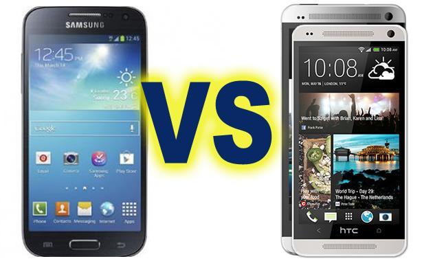 HTC One mini vs Samsung Galaxy S4 Mini - Comparatie