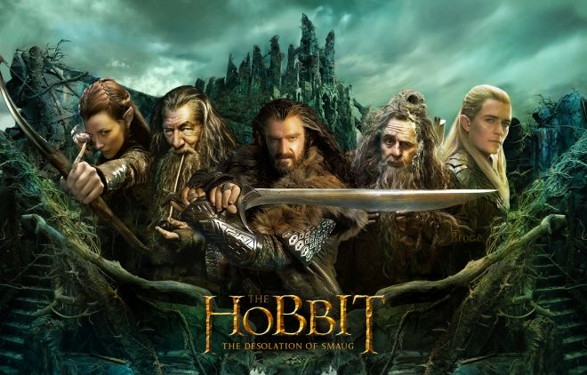 The Hobbit - The Desolation-of-Smaug (Hobbitul)