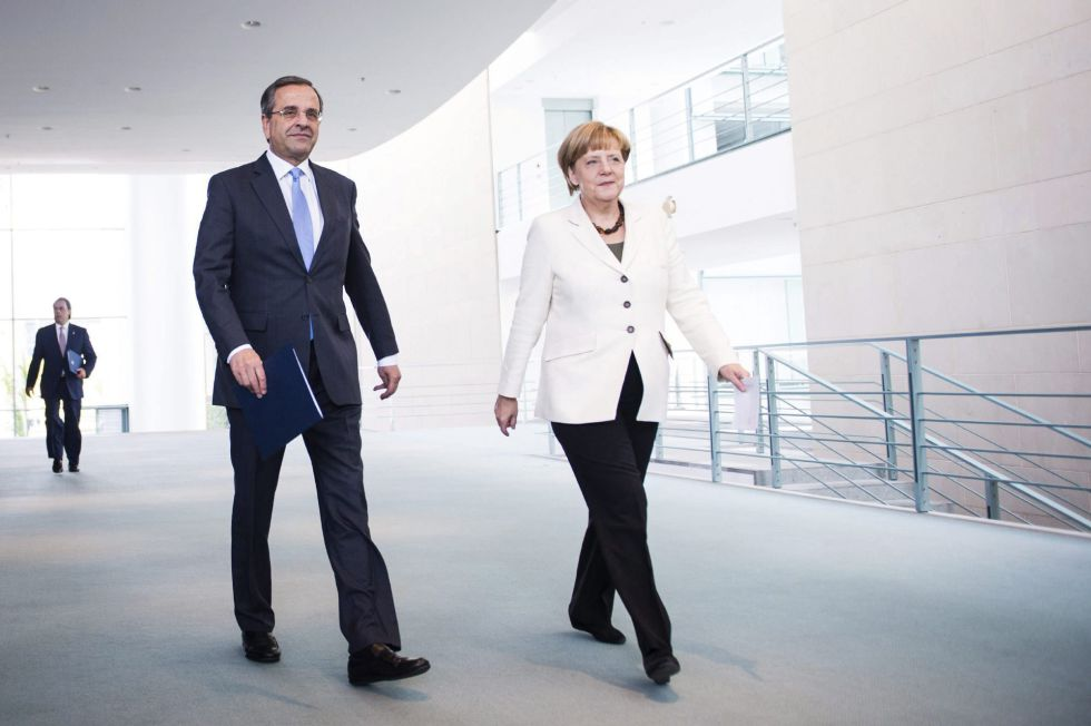 Angela Merkel vede puternica zona euro