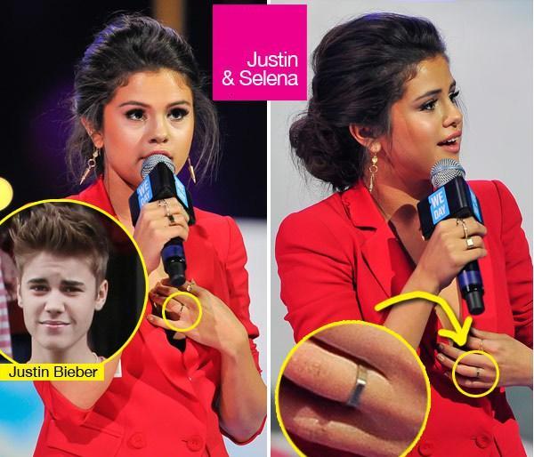 Selena Gomez-Justin Bieber-DJ Zedd si un inel - Triunghiul dragostei