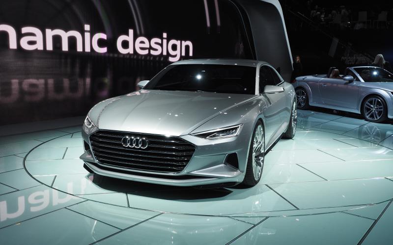 Audi A7 in 2017