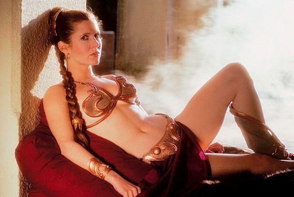 Carrie Fisher binecunoscuta Printesa Leia - Star Wars 7