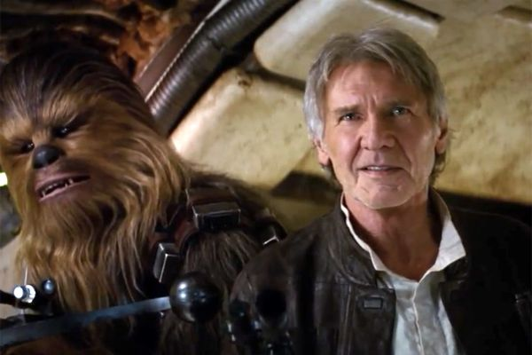 Harrison Ford si Chewie in noul Star Wars: The Force Awakens