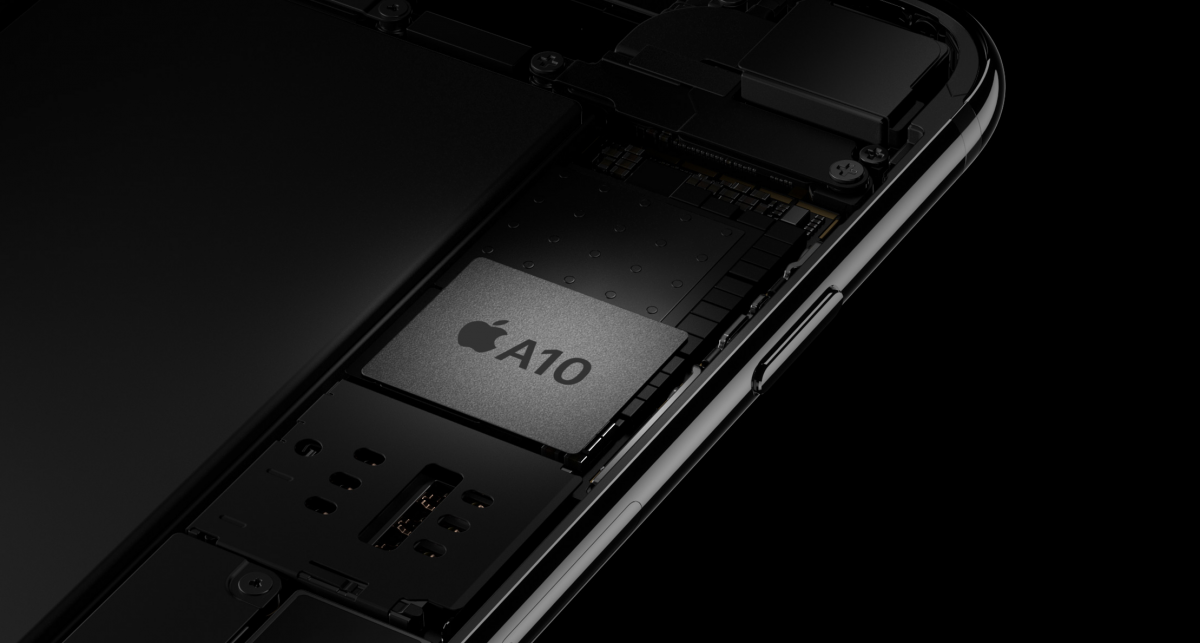 Cel mai rapid procesor Apple A10 Fusion - Credit foto: Apple